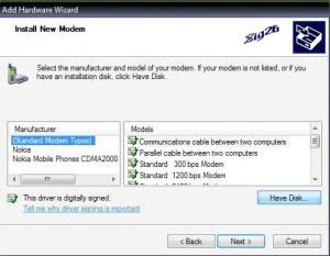 Setting Modem Nokia 2115i/2116, 6015i/6016i dengan Kabel DKU  5